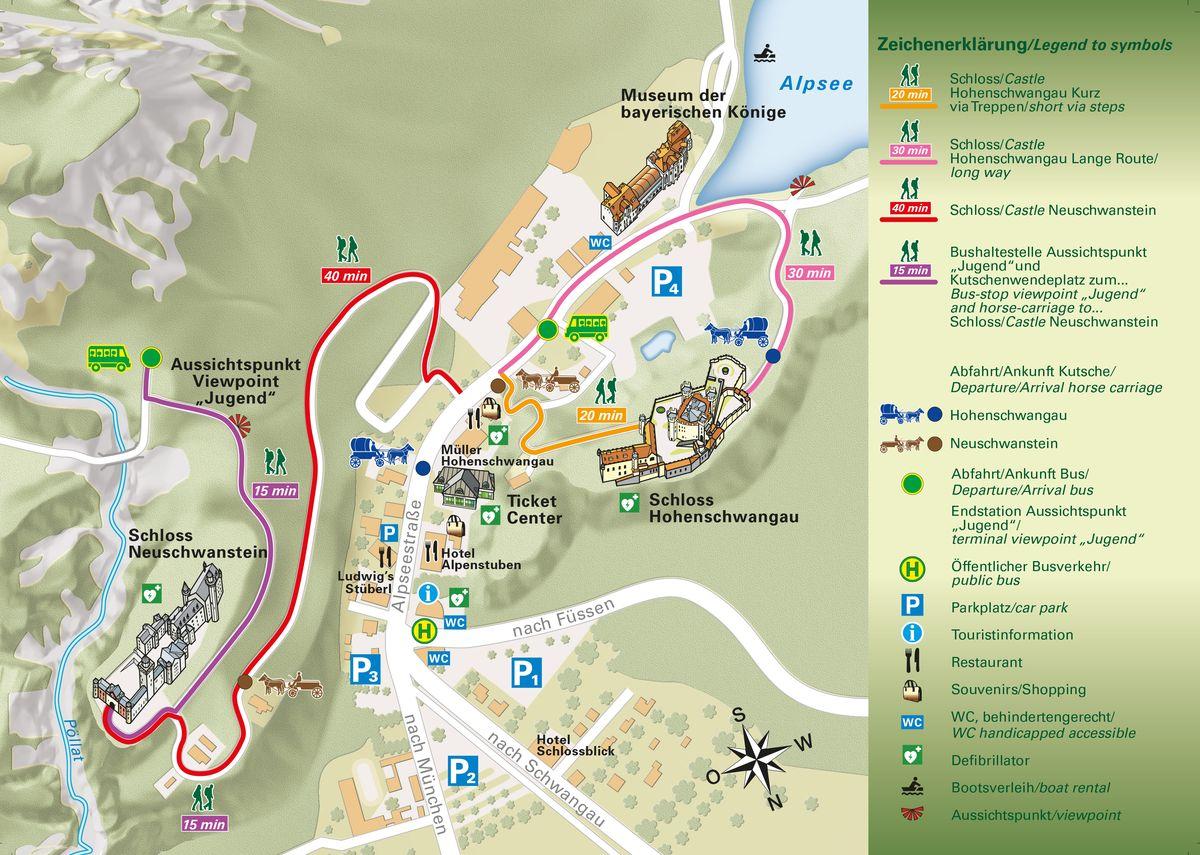Mapa Castillo Rey Loco